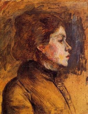 Toulouse-Lautrec - Woman's Head