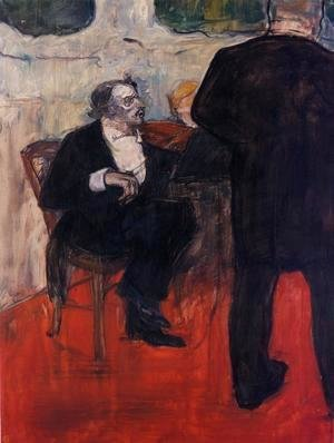 Toulouse-Lautrec - The Violinist Dancia