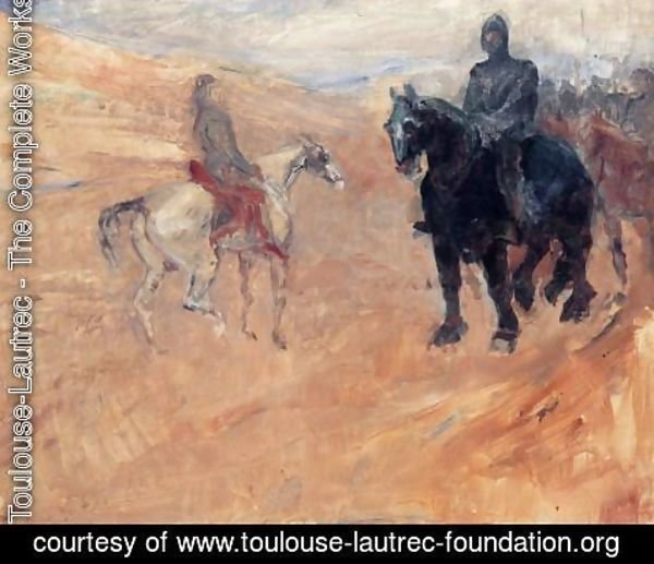 Toulouse-Lautrec - Two Knights in Armor