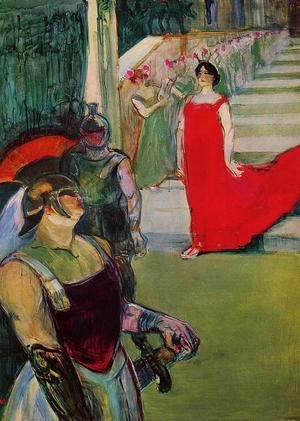Toulouse-Lautrec - Scenes from 'Messaline' at the Bordeaux Opera