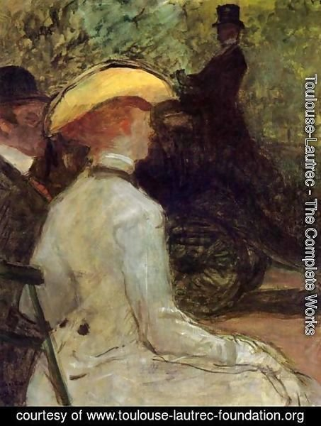 Toulouse-Lautrec - In the Bois de Boulogne