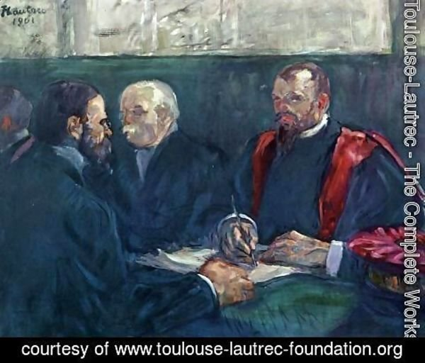 Toulouse-Lautrec - An Examination at the Faculty of Medicine, Paris