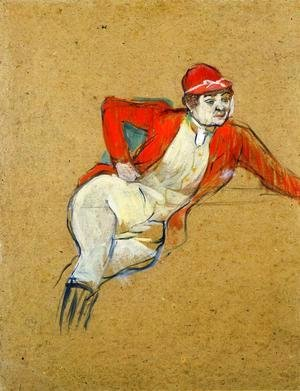 Toulouse-Lautrec - La Macarona in Riding Habit