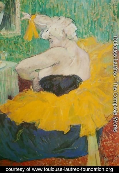 Toulouse-Lautrec - Lady Clown Cha-U-Kao