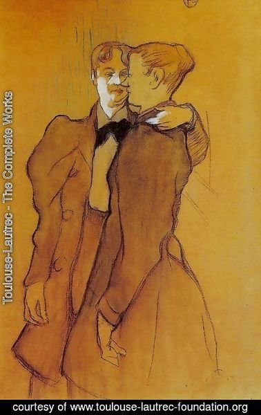 Toulouse-Lautrec - Two Women Waltzing