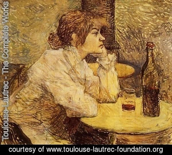 Toulouse-Lautrec - Hangover (The Drinker)