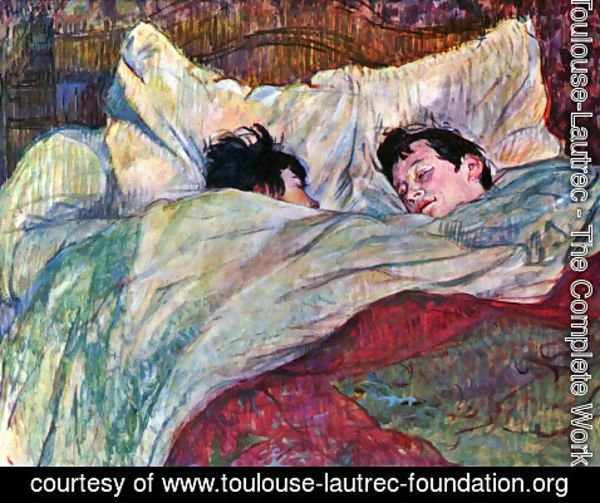 Toulouse-Lautrec - In Bed 2