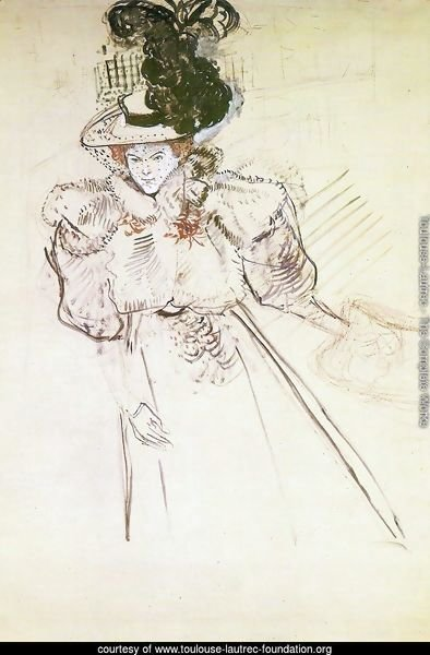 Toulouse lautrec the complete works misia natanson for Toulouse lautrec works