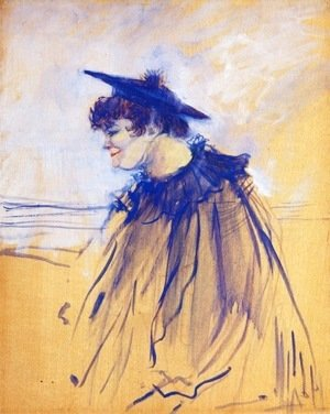 Toulouse-Lautrec - Miss Dolly, English Singer