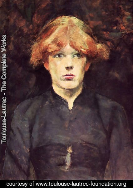 Toulouse-Lautrec - Portrait of Carmen