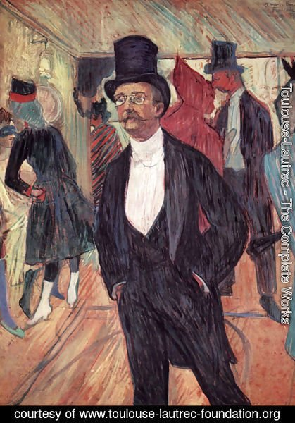 Toulouse-Lautrec - Portrait of Mr Fourcade