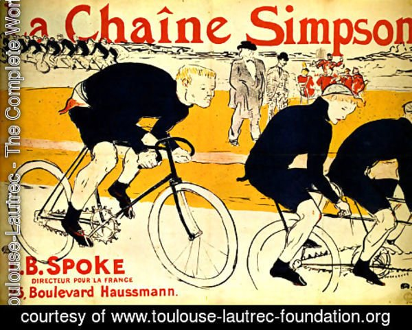 Toulouse-Lautrec - The chain Simpson