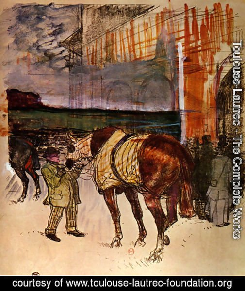 Toulouse-Lautrec - The fence weight
