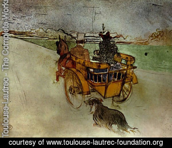 Toulouse-Lautrec - The outing campaign