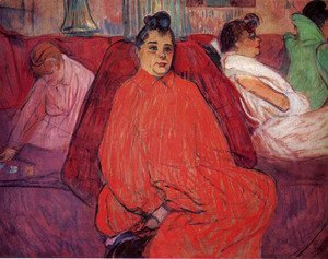 Toulouse-Lautrec - The sofa 2
