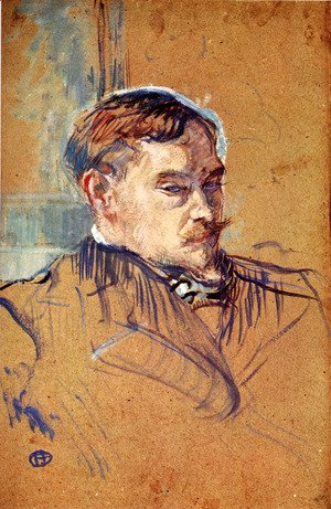 Toulouse-Lautrec - The writer Romain Coolus