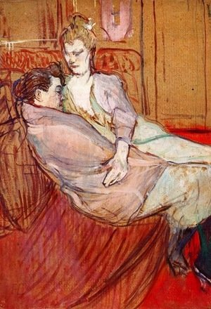 Toulouse-Lautrec - Two Friends 1