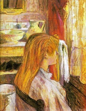 Toulouse-Lautrec - Woman at the window