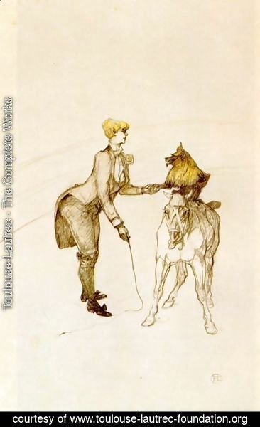 Toulouse-Lautrec - At the Circus, The Animal Trainer