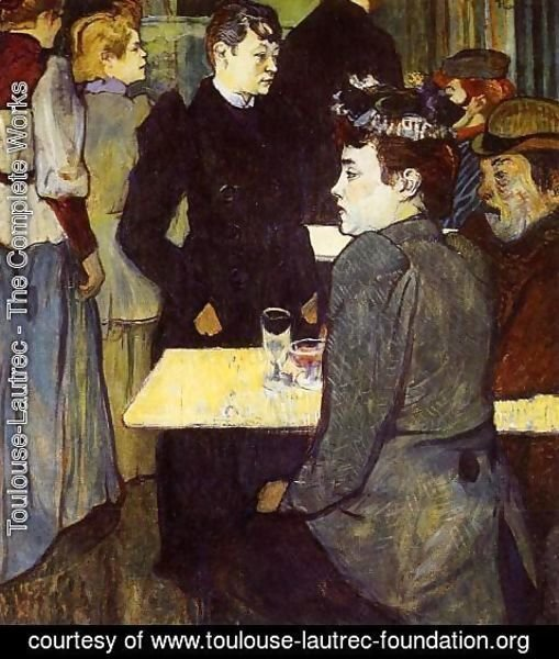 Toulouse-Lautrec - A Corner in the Moulin de la Galette 1892