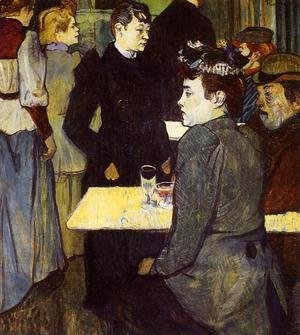 A Corner in the Moulin de la Galette 1892
