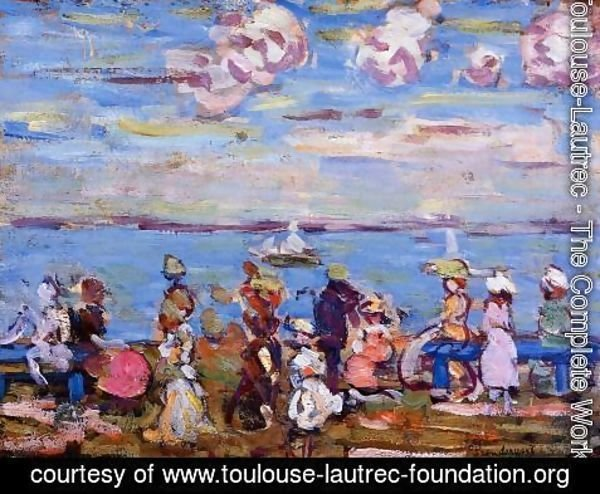 Toulouse-Lautrec - Beach Scene No. 4 1905