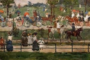 Toulouse-Lautrec - Central Park 1900