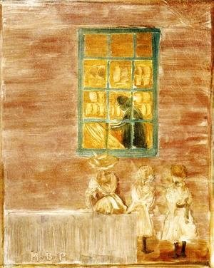 Children by a Window 1900-1902