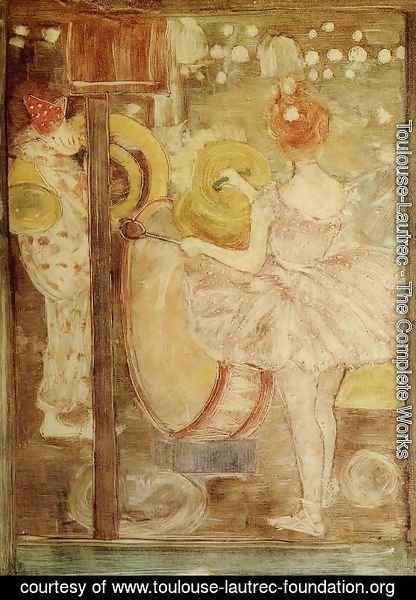 Toulouse-Lautrec - Circus Band 1895