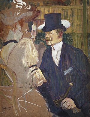 The Englishman (William Tom Warrener) at the Moulin Rouge 1892