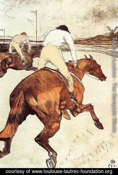 Toulouse-Lautrec - The Jockey 1899