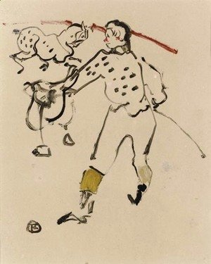 Toulouse-Lautrec - Au Cirque le Clown