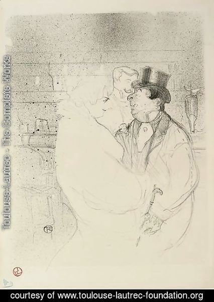 Toulouse-Lautrec - Ida Heath au bar