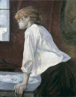 Toulouse-Lautrec - La blanchisseuse