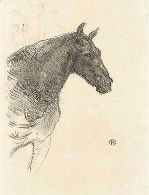 Toulouse-Lautrec - Le Poney Philibert