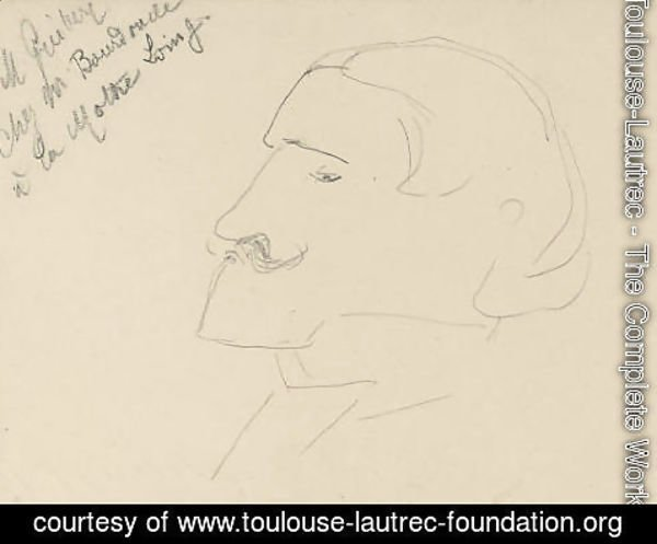 Toulouse-Lautrec - Lucien Guitry