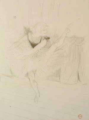 Toulouse-Lautrec - Miss Ida Heath, danseuse anglaise