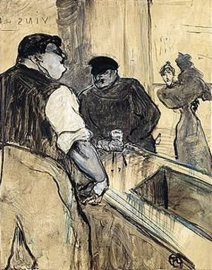 Toulouse-Lautrec - Property Of A Private European Collector L'Assommoir