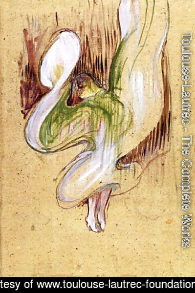 Loie Fuller in the Dance of the Veils