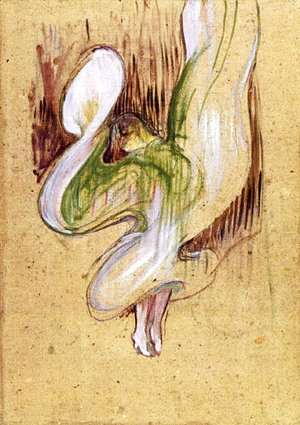 Toulouse-Lautrec - Loie Fuller in the Dance of the Veils