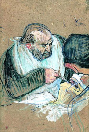 Toulouse-Lautrec - Dr Pean Operating