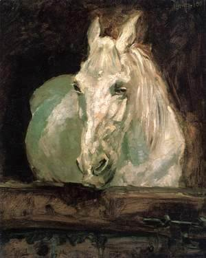 Toulouse-Lautrec - The White Horse Gazelle