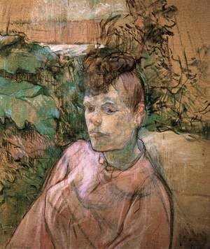 Toulouse-Lautrec - Woman in Monsieur Forest's Garden 2