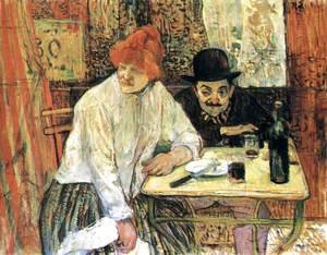 Toulouse-Lautrec - After the Meal