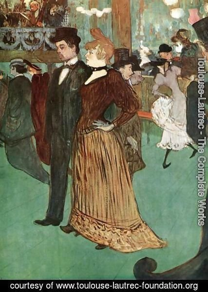 Toulouse-Lautrec - At the Moulin Rouge or The Promenade