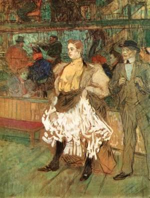 Toulouse-Lautrec - At the Moulin Rouge 2