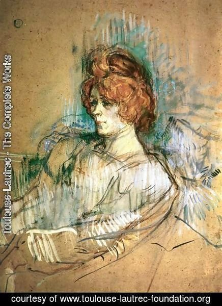 Toulouse-Lautrec - Seated Woman
