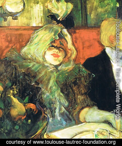Toulouse-Lautrec - Private Room in the Le rat mort