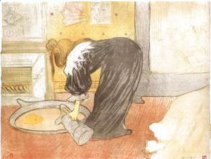 Toulouse-Lautrec - The Tub