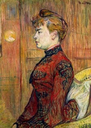 Toulouse-Lautrec - The Policeman s Daughter